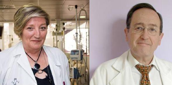 Ana-Lluch-y-Juan-Martinez-Leon-embajadores-de-la-sanidad-española
